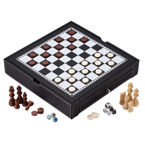 Mainstreet Classics Chess - Checkers - Backgammon - Chinese Checkers-Mainstreet Classics-Air Hockey Table Zone