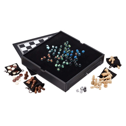 Mainstreet Classics Chess - Checkers - Backgammon - Chinese Checkers-Mainstreet Classics-The Rec Room Game Company