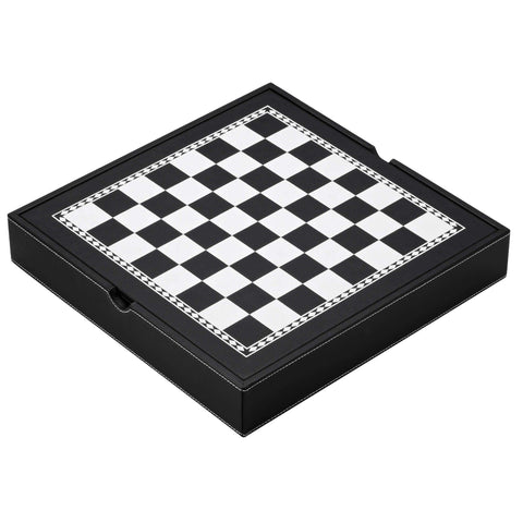 Image of Mainstreet Classics Chess - Checkers - Backgammon with Storage-Mainstreet Classics-The Rec Room Game Company