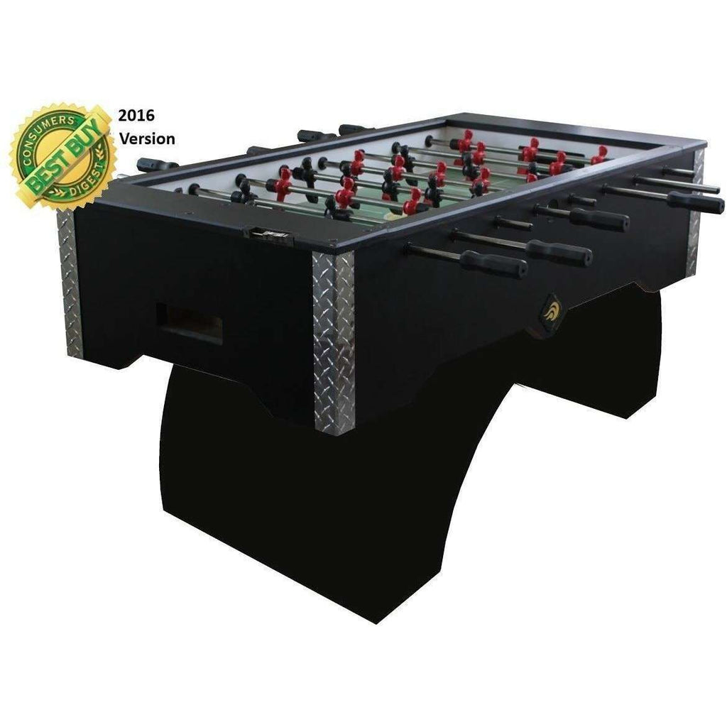Performance Games Sure Shot RS Foosball Table with Curved Legs-Performance Games-The Rec Room Game Company