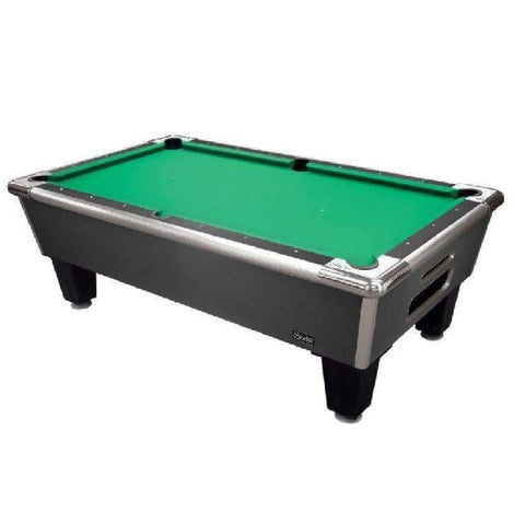 Image of Shelti Bayside Pool Table in Charcoal Grey Finish