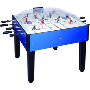 Breakout Dome Air Hockey Table by Shelti - Available in Blue or Black