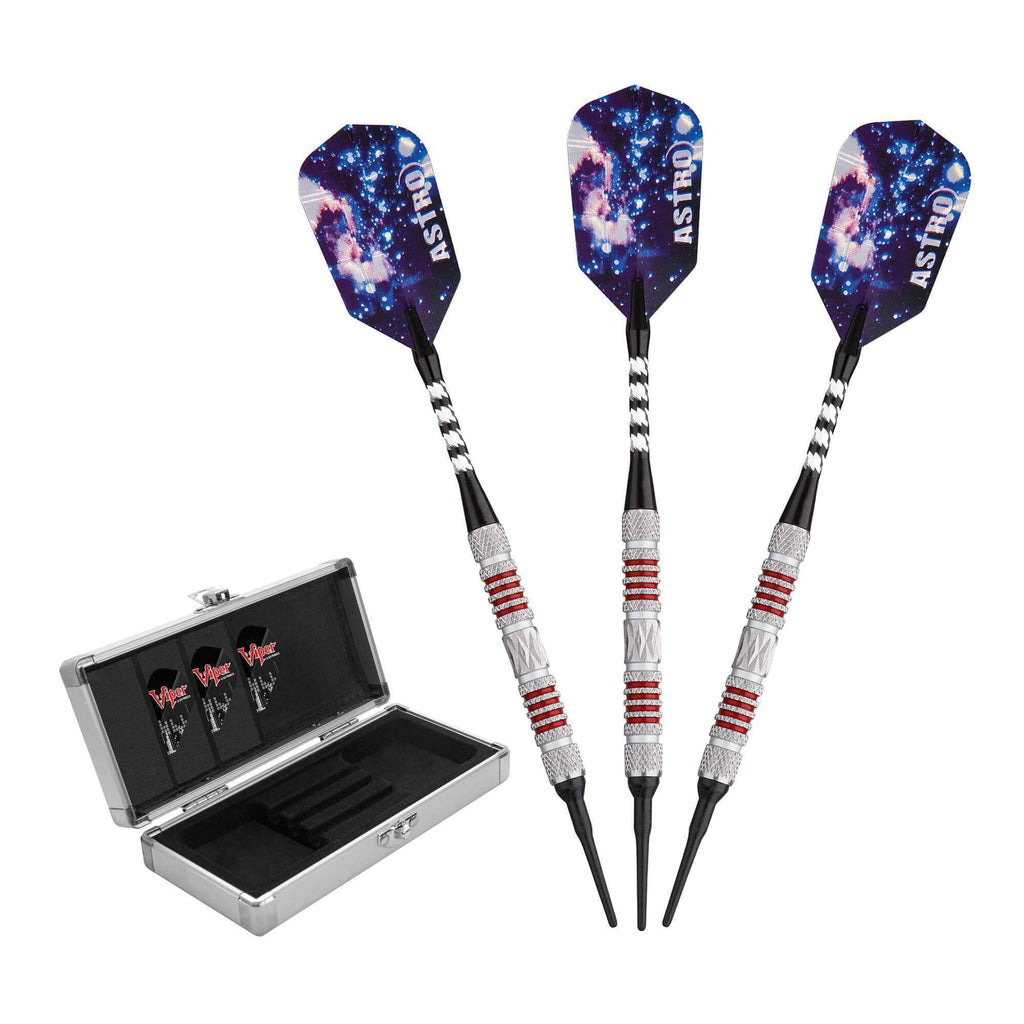 Viper Astro Tungsten Soft Tip Darts Black Rings 16 Grams 21-3279-Viper-The Rec Room Game Company