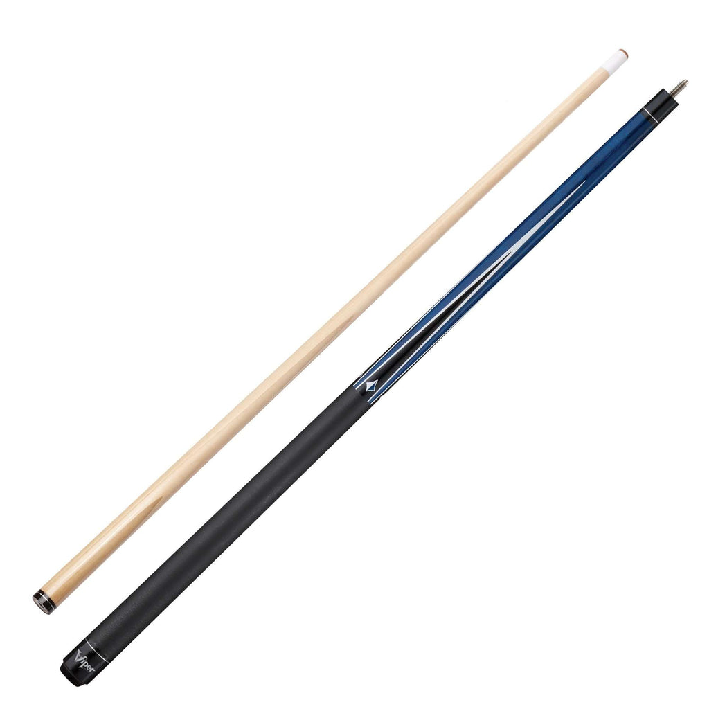 Viper Diamond Billiard Cue Blue Stain 50-0911-Viper-The Rec Room Game Company