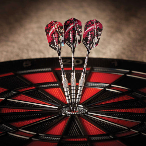 Image of Viper Grim Reaper Tungsten Soft Tip Darts Black Rings 16 Grams 21-2504-Viper-The Rec Room Game Company