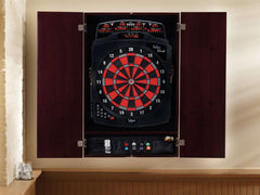 Viper Metropolitan Mahogany Soft Tip Dartboard Cabinet 40-0401-Viper-Air Hockey Table Zone