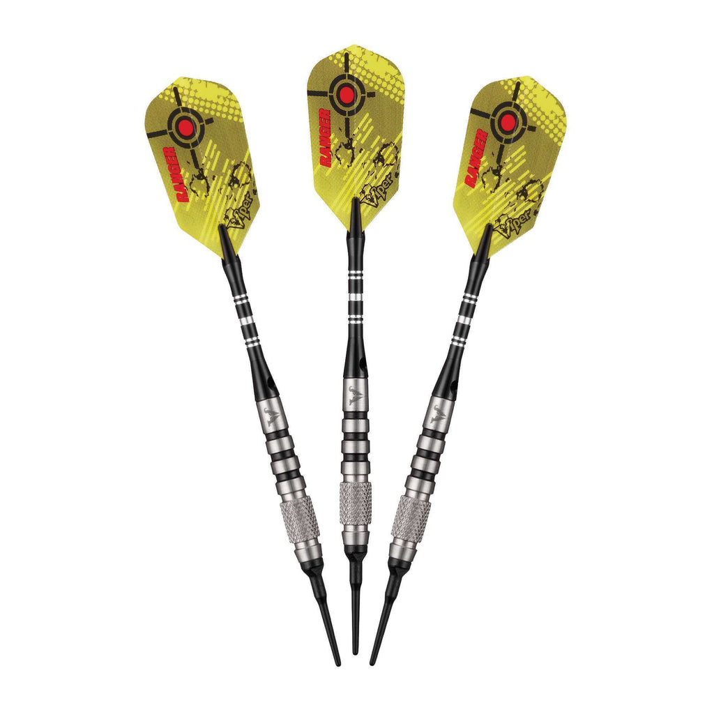 Viper Ranger Tungsten Soft Tip Darts Red Rings 18 Grams-Viper-The Rec Room Game Company