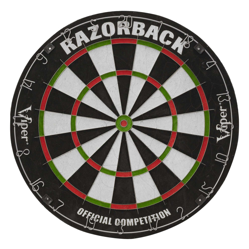 Viper Razorback Sisal Dartboard 42-6006-Viper-The Rec Room Game Company