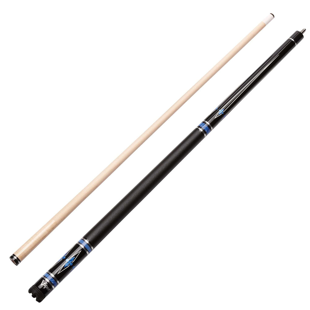 Viper Sinister Series Cue with Black Faux Leather Wrap 50-1401-Viper-The Rec Room Game Company