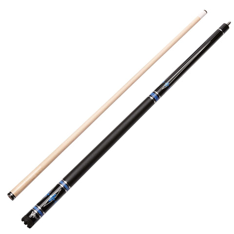 Viper Sinister Series Cue with Black Faux Leather Wrap 50-1401-Viper-Air Hockey Table Zone
