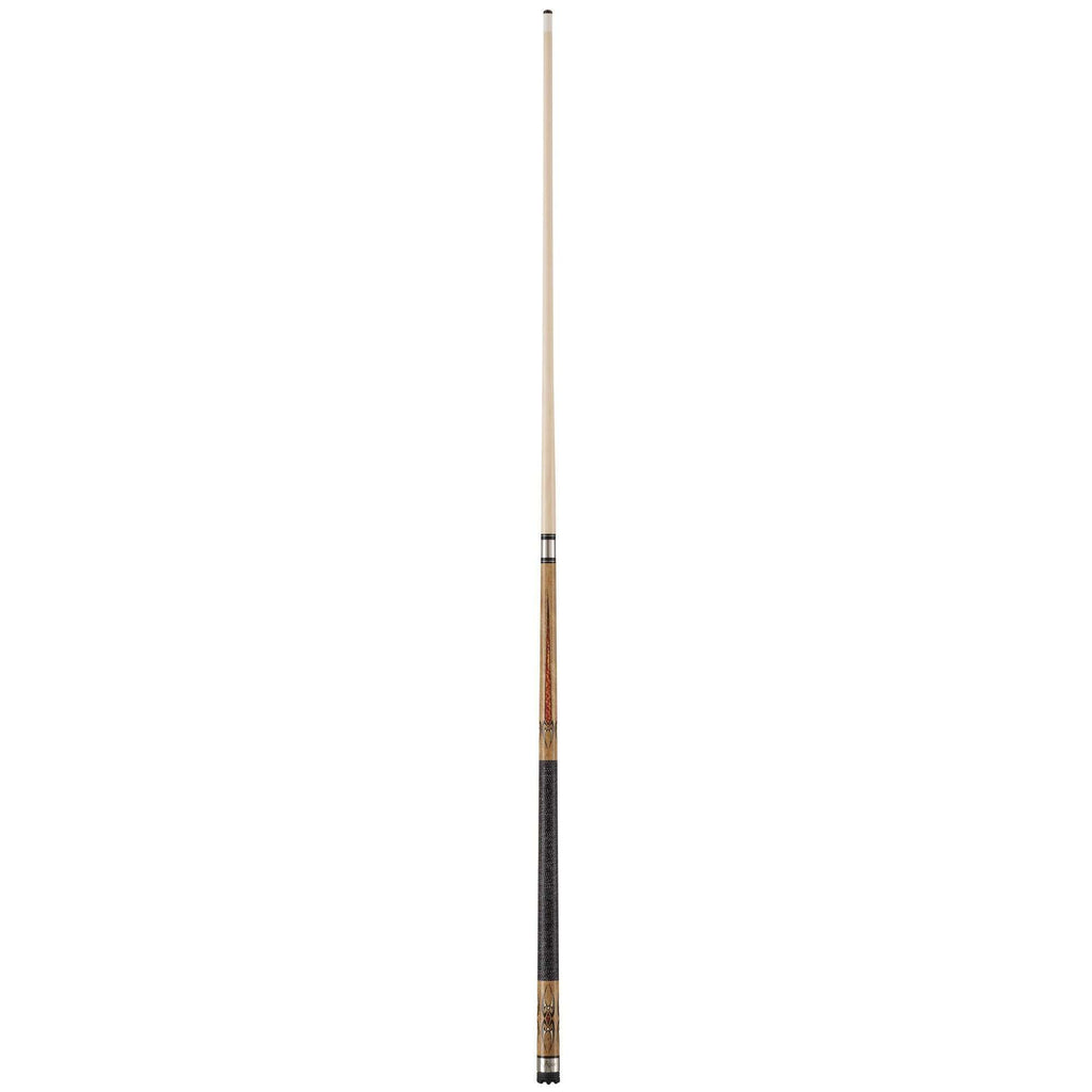 Viper Sinister Series Cue with Black/White Wrap and Brown Stain-Viper-The Rec Room Game Company