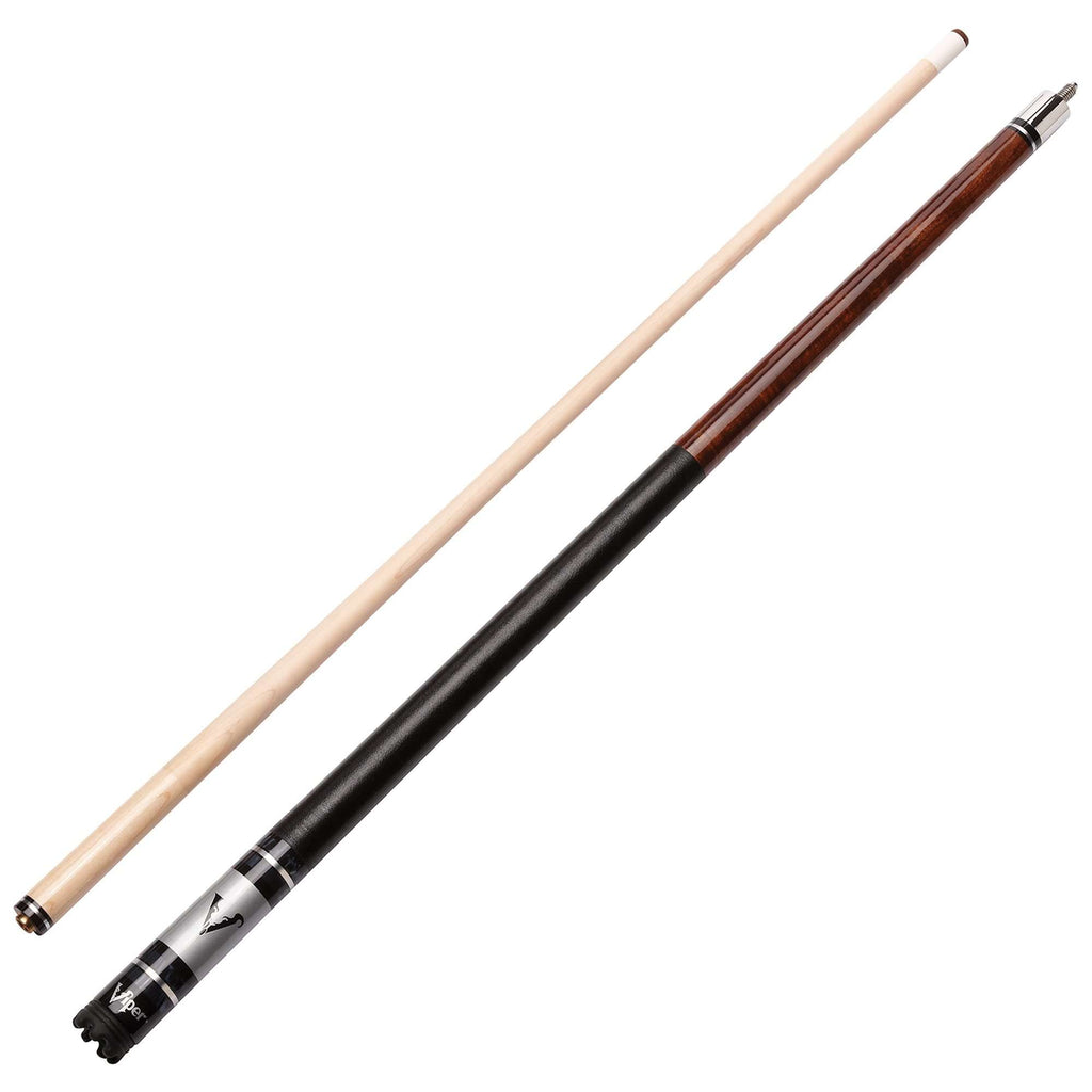 Viper Sinister Series Cue with Brown Stain 50-1077-Viper-The Rec Room Game Company