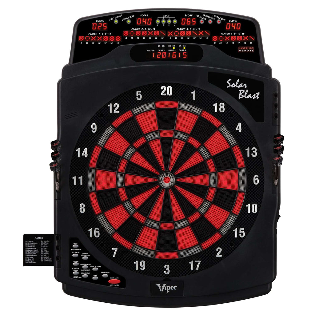 Viper Solar Blast Electronic Soft-Tip Dartboard 42-1021-Viper-The Rec Room Game Company