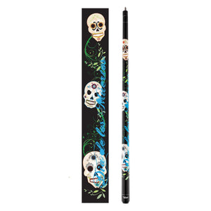 Viper Underground Dia de los Muertos Billiard Cue 50-0660-Viper-The Rec Room Game Company