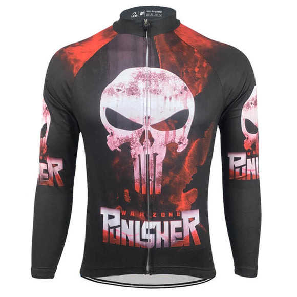 Punisher Long Sleeve Cycling Jersey