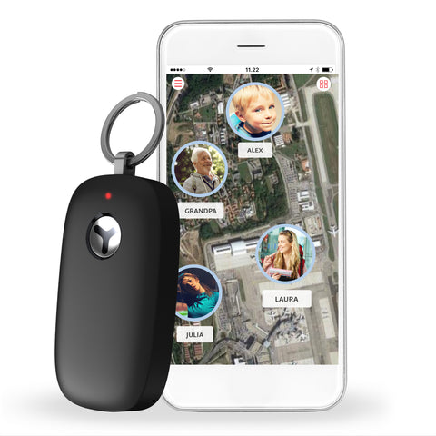 GPS Locator with Easy Access