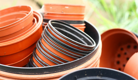 Recycle Your Plastic Plant Pots