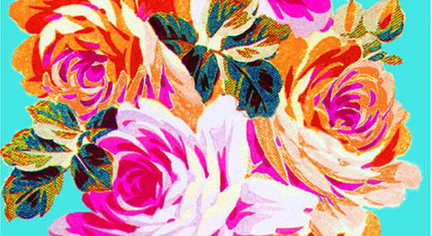 TEA TOWEL FRENCH ROSES