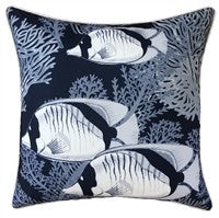OUTDOOR CUSHION CORAL COVE NAVY 45X45CM