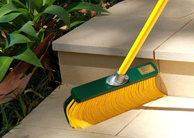 RAKE BROOM 35CM WITH TELESCOPIC HANDLE 1.4M