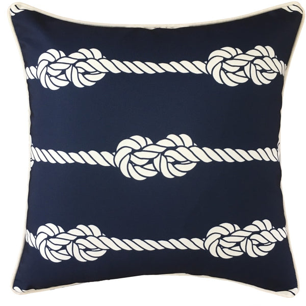 OUTDOOR CUSHION REEF LINE 45X45CM