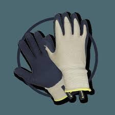 CLIP BAMBOO GARDENING GLOVES MENS LARGE