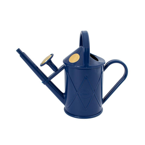 HAWS PLASTIC HERITAGE WATERING CAN 1L BLUE