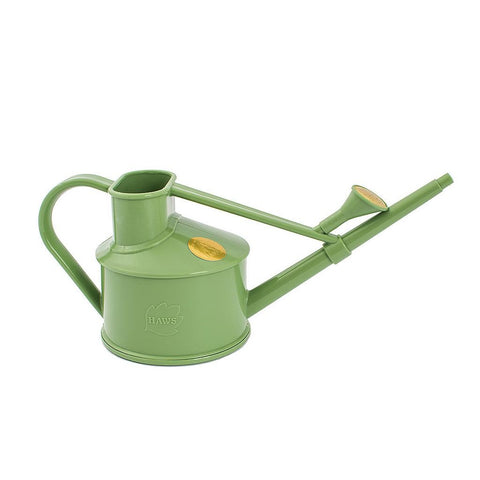 HAWS PLASTIC HANDY WATERING CAN 0.7L SAGE