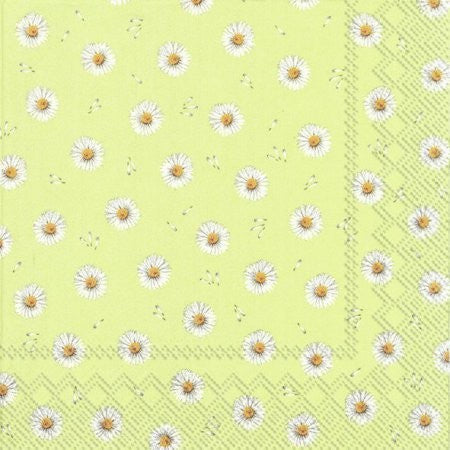 LUNCH NAPKINS BETTY LIGHT GREEN