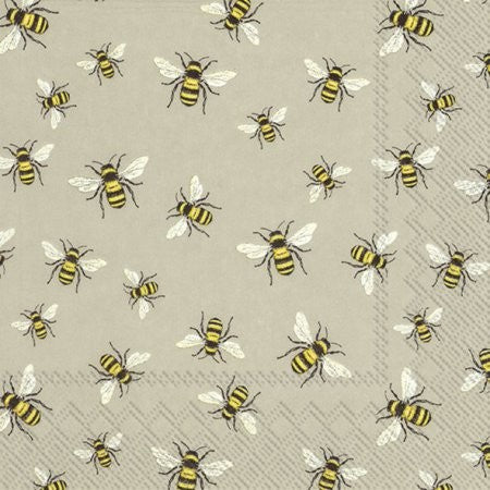 LUNCH NAPKINS LOVELY BEES