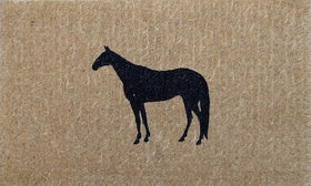 DOORMAT REGULAR HORSE