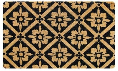 DOORMAT REGULAR BLACK TILE