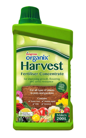 HARVEST FISH & SEAWEED CONCENTRATE 1 LITRE