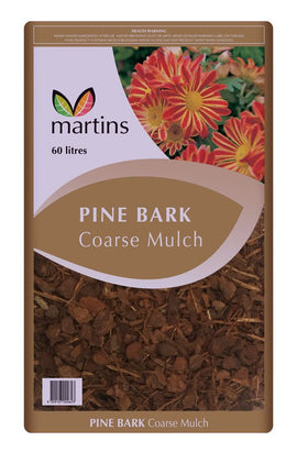 PINE BARK COARSE 60L (MAR)