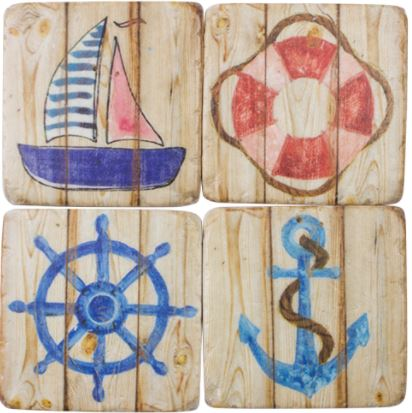 SHIPSHAPE DRINKS COASTERS