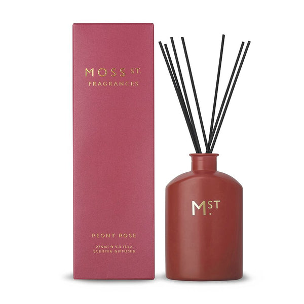 DIFFUSER PEONY ROSE 275ML MOSS ST