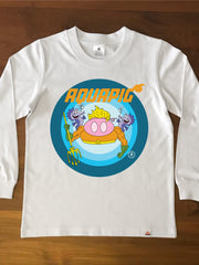 AQUAPIG - Kids Long Sleeve Tee