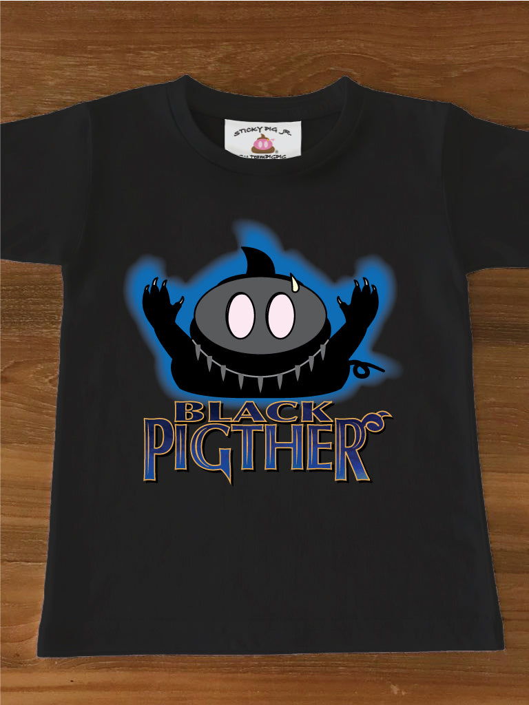 THE BLACK PIGTHER - Kids Tee