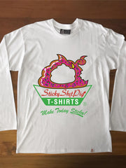 DONUT PIG - Adults Long Sleeve Tee