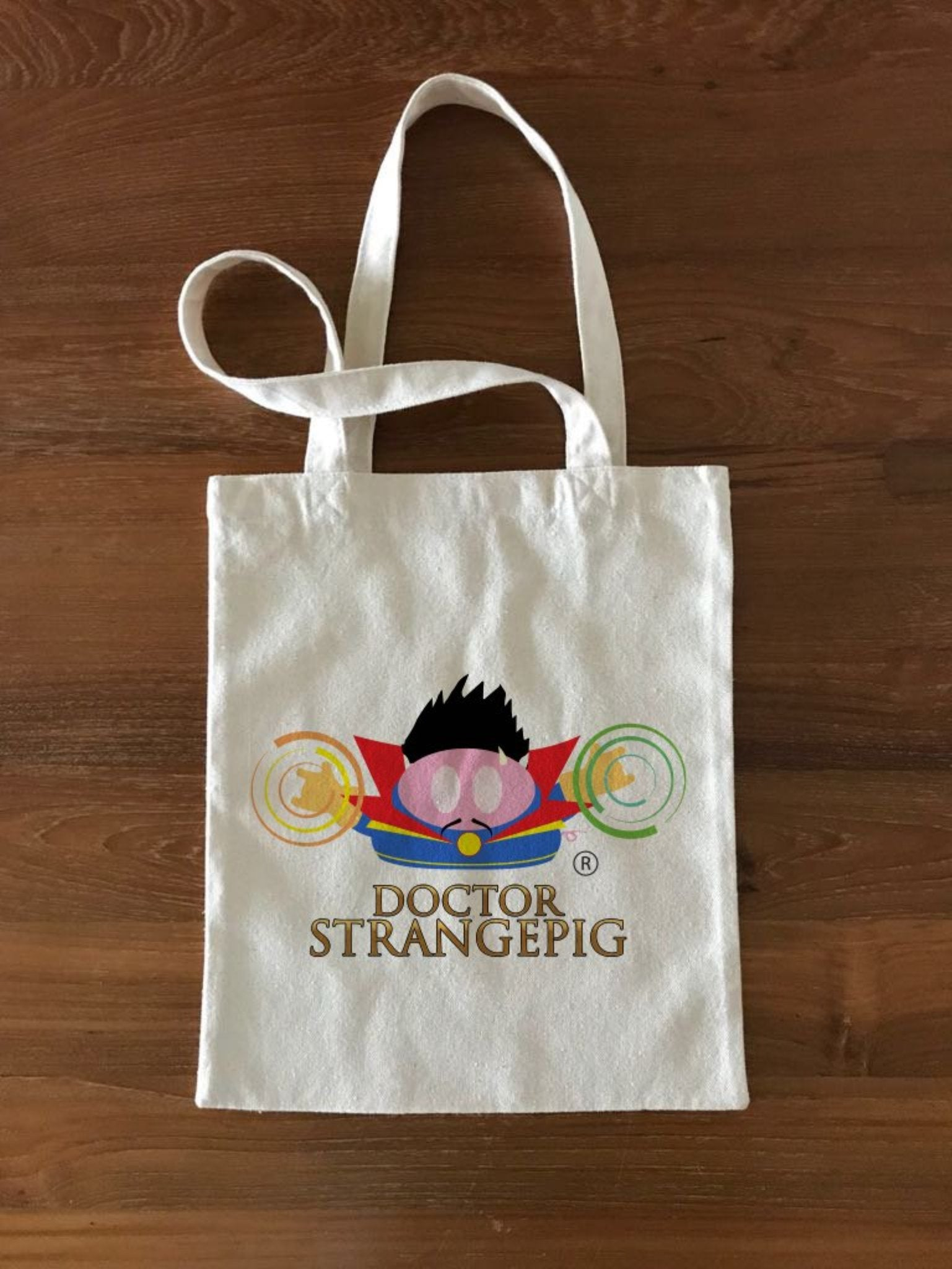 Dr StrangePig Tote Bag - Small