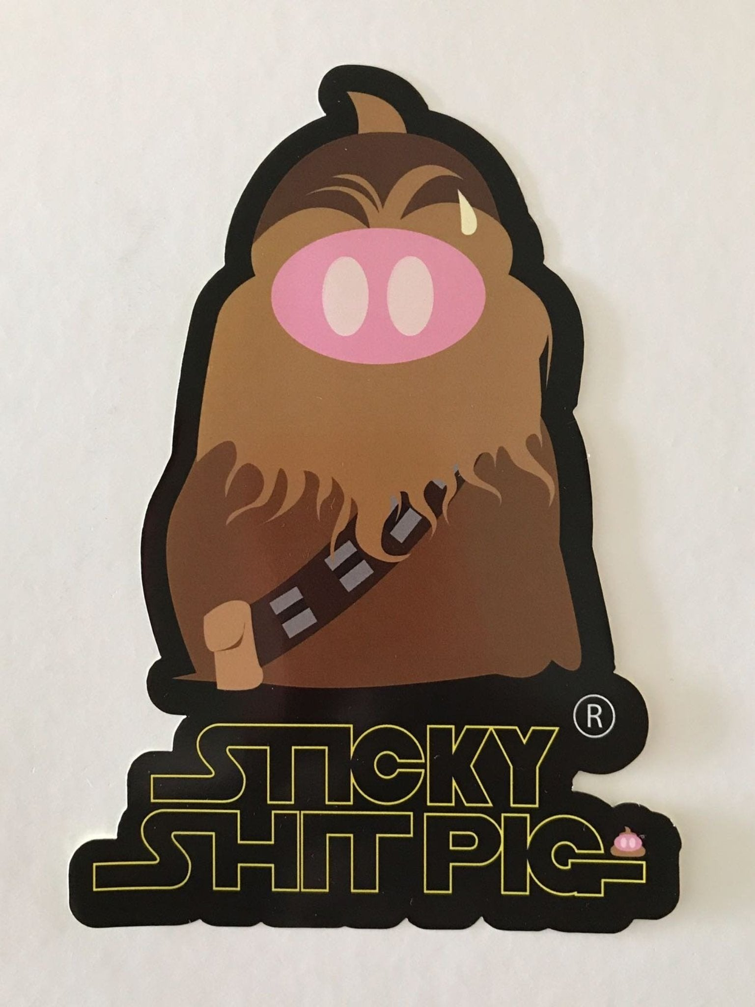 The Poobacca Sticker
