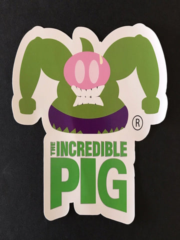 The Incredible Pig Sticker