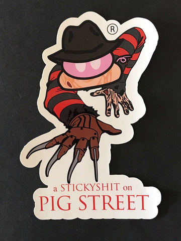 The Piggy Krueger Sticker