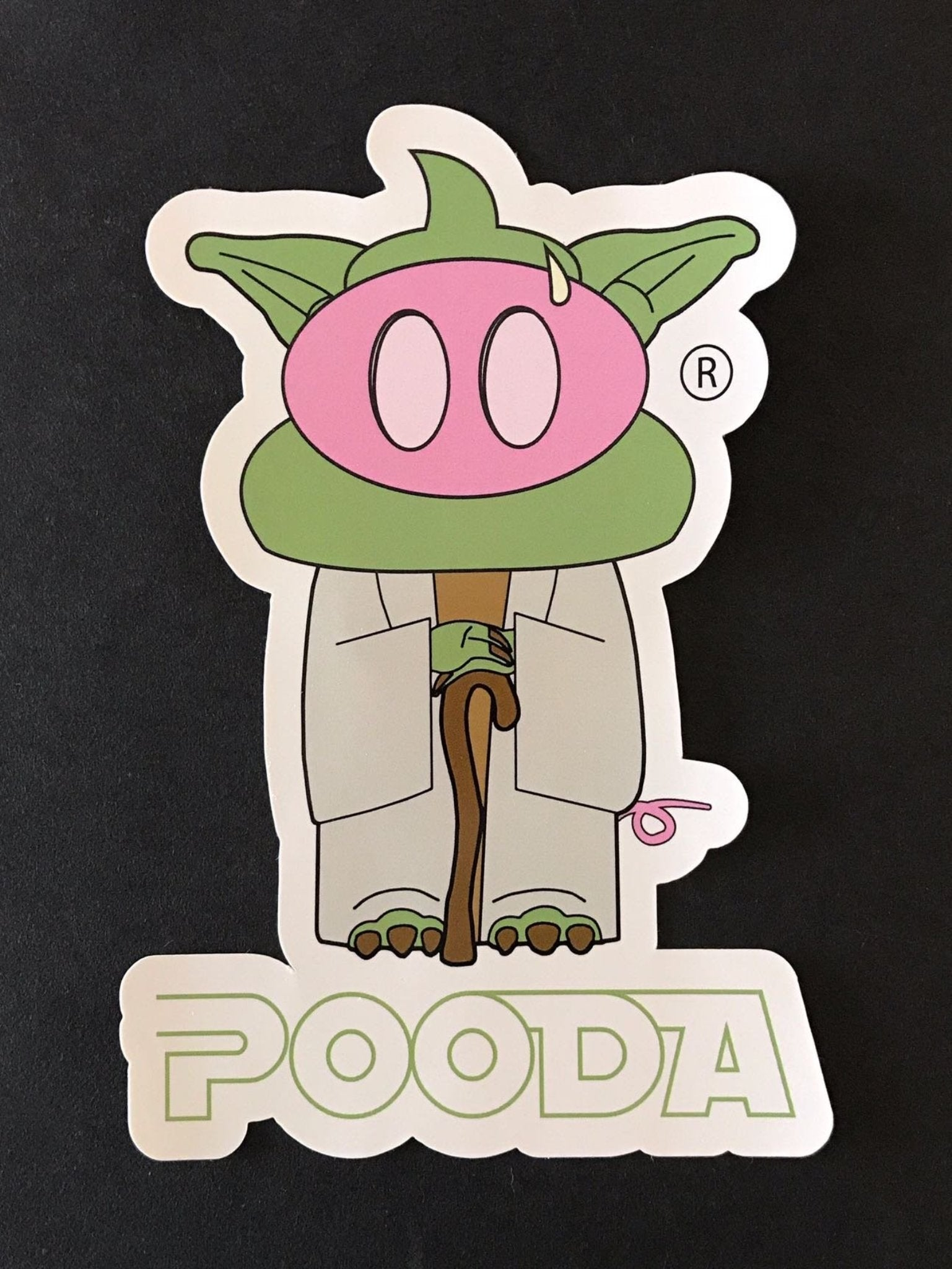 The Pooda Sticker