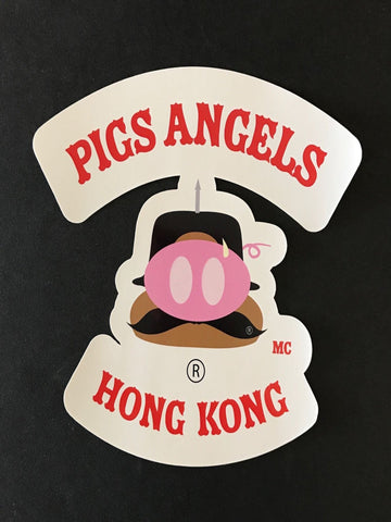 The Pigs Angels Sticker