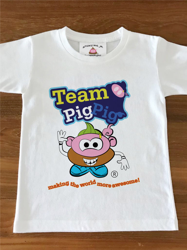 MR PIGPIG HEAD - Kids Tee