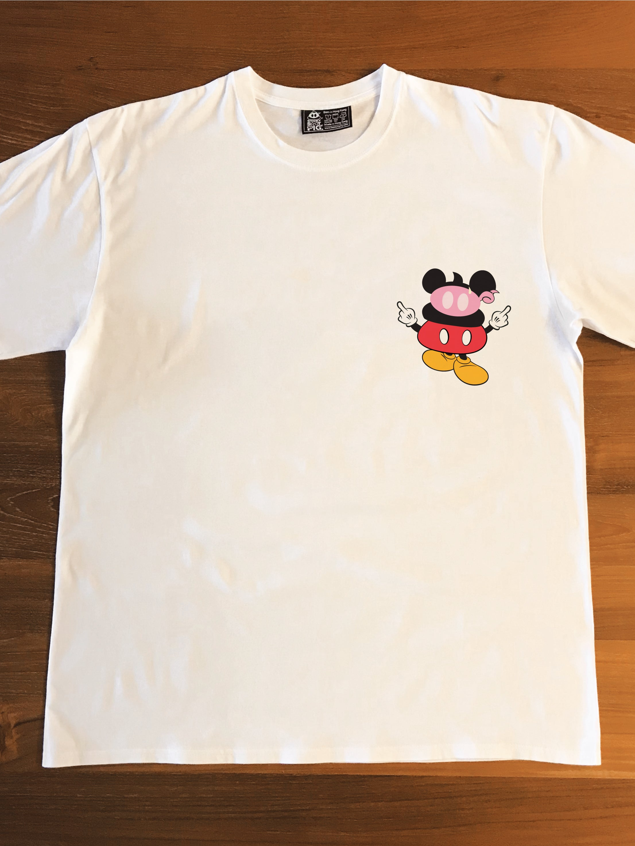 STICKY MOUSE - Adults T-Shirt