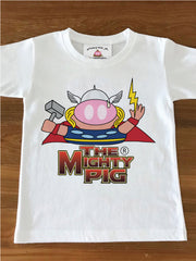 THE MIGHTY PIG - Kids Tee