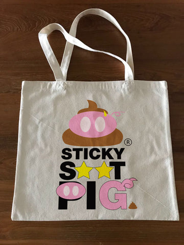 StickyS**tPig Yellow Star Edition Tote Bag - Large