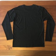 SSP SMALL LOGO (BLACK) - Adults Long Sleeve Tee
